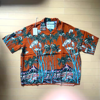 Jieda - DAIRIKU Aloha アロハシャツ Orange