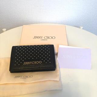 ジミーチュウ(JIMMY CHOO)の新品未使用 正規品 カードケース 名刺入れ(名刺入れ/定期入れ)