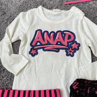 アナップキッズ(ANAP Kids)のANAPkids アナップキッズ 90サイズ ロンT・パンツセット(パンツ/スパッツ)