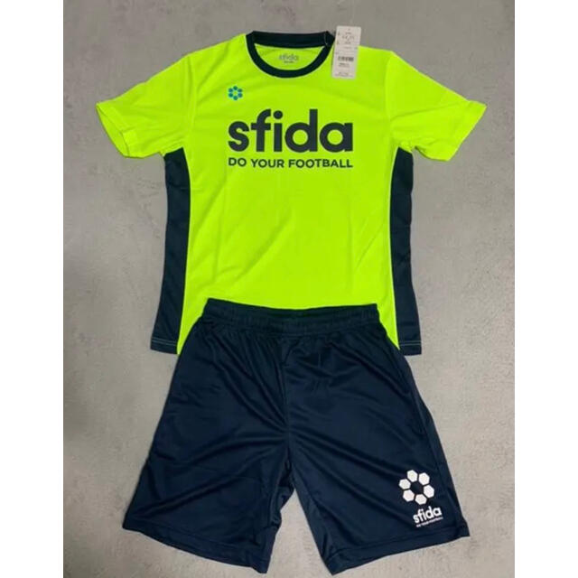 ATHLETA(アスレタ)のsfida トレーニングシャツ セットアップ スポーツ/アウトドアのサッカー/フットサル(ウェア)の商品写真