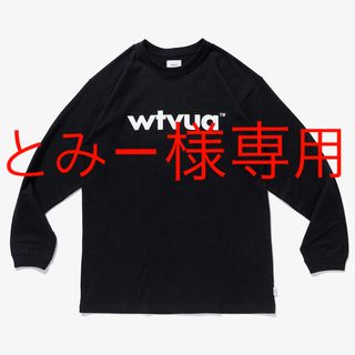 ダブルタップス(W)taps)の新品 Wtaps WTVUA LS Black M(Tシャツ/カットソー(七分/長袖))
