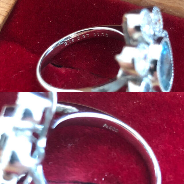 2ct up パライバトルマリンリング レディースのアクセサリー(リング(指輪))の商品写真