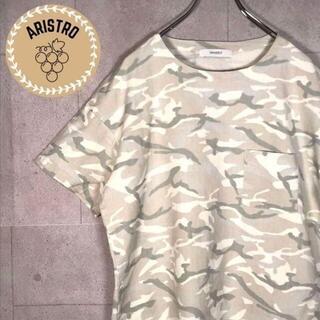 ジャーナルスタンダード(JOURNAL STANDARD)のA262 古着/半袖/Tシャツ/デザイン/迷彩/デザイン/ビッグシルエット(Tシャツ/カットソー(半袖/袖なし))