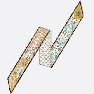 Christian Dior - Dior ミッツァ ルモンド タロット スカーフ 黄色 イエロー ツイリー