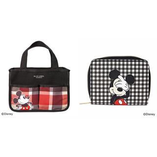 Disney - ミッキーマウス カードケース  インテリアバッグ セット ディズニー
