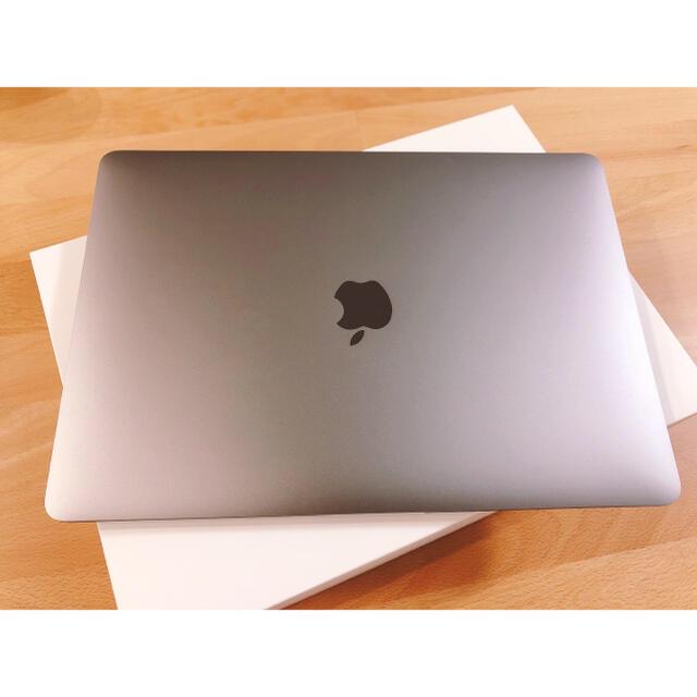 Apple(アップル)のMacBook Air 2020 スペースグレー M1 16GB  512GB スマホ/家電/カメラのPC/タブレット(ノートPC)の商品写真