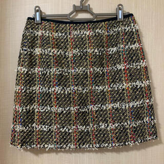 CROLLA - CROLLA クローラ ツイード ミニスカート