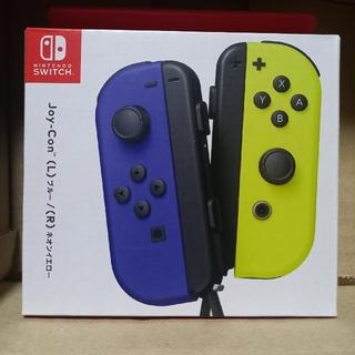任天堂 - 【新品】Nintendo Switch Joy-Con ブルー/ネオンイエロー
