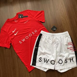 NIKE - セール‼︎【新品タグ付】NIKE SWOOSH Tシャツ/ショートパンツ 上下