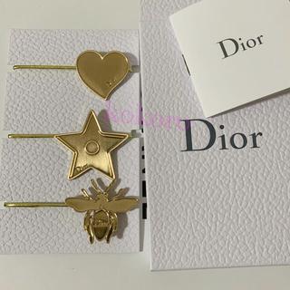 Christian Dior - ディオール ヘアゴム ヘアアクセサリー 非売品 ノベルティ ゴールド 当選品