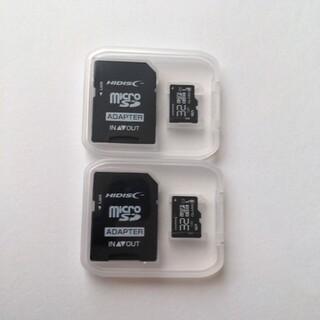 2枚セット microSDカード 32GB マイクロSDカード 32GB