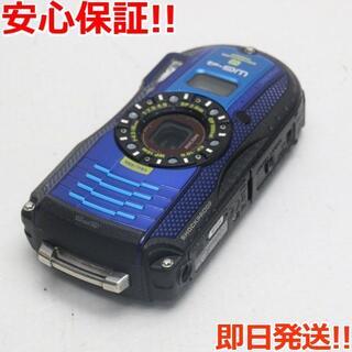 ペンタックス(PENTAX)の美品 WG-4 GPS ブルー (コンパクトデジタルカメラ)