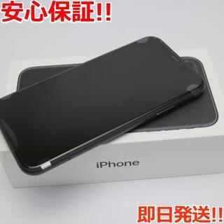 アイフォーン(iPhone)の新品 SIMフリー iPhone 11 64GB ブラック (スマートフォン本体)