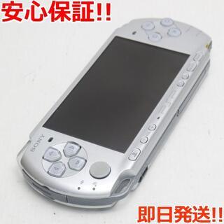 ソニー(SONY)の良品中古 PSP-3000 ミスティック・シルバー (携帯用ゲーム機本体)