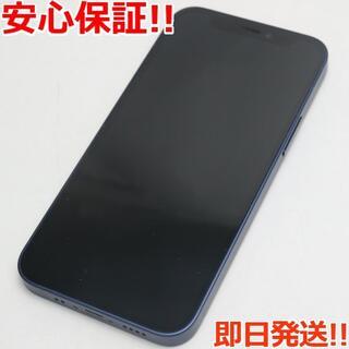 アイフォーン(iPhone)の新品同様 SIMフリー iPhone12 mini 64GB  ブルー(スマートフォン本体)