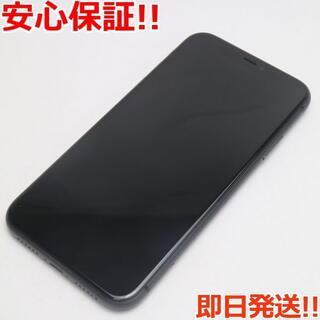 アイフォーン(iPhone)の超美品 SIMフリー iPhone 11 128GB ブラック (スマートフォン本体)