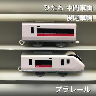 トミー(TOMMY)のプラレール ひたち 中間車両 後尾車両(鉄道模型)