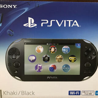 PlayStation Vita - 美品♪ PlayStation Vita PCH-2000 カーキ/ブラック