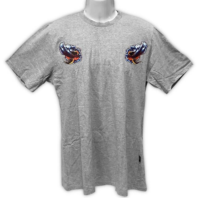 【Surgical Steel】 Tシャツ グレー Lサイズ 未使用 メンズのトップス(Tシャツ/カットソー(半袖/袖なし))の商品写真