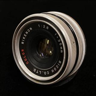 リコー(RICOH)のCOLOR RIKENON 35mm f2.8 L39マウント改造(レンズ(単焦点))