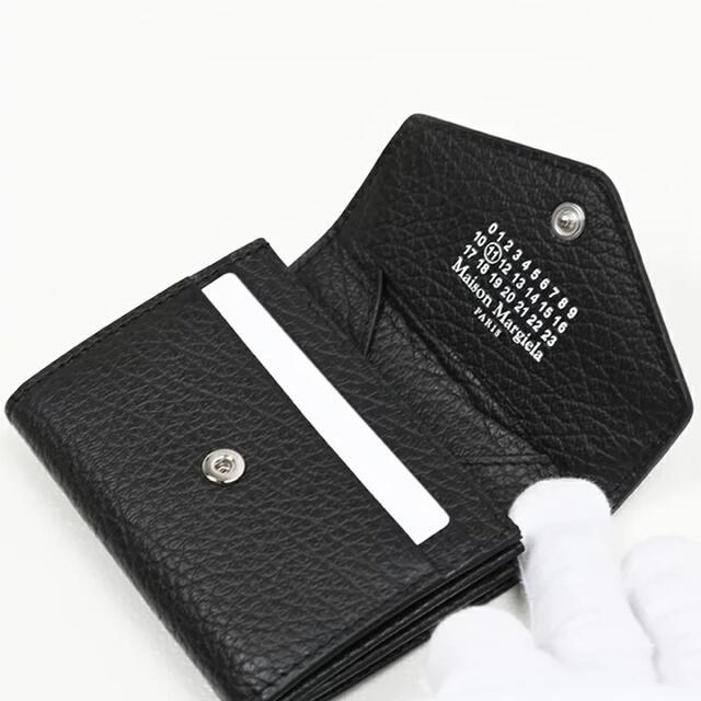Maison Martin Margiela(マルタンマルジェラ)のMaison Margiela 2021AW レザーミニウォレット 新品未使用 レディースのファッション小物(財布)の商品写真