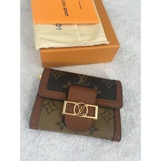 ルイヴィトン(LOUIS VUITTON)のルイヴィトン 折りたたみ財布 ポルトフォイユ・ドーフィーヌ コンパクト(財布)