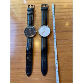 ダニエルウェリントン(Daniel Wellington)のダニエルウェリントン DW 腕時計 ウォッチ 2個(腕時計(アナログ))