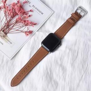 アップルウォッチ(Apple Watch)の【送料無料】Apple Watch バンド レザーベルト 38/40mm対応(レザーベルト)