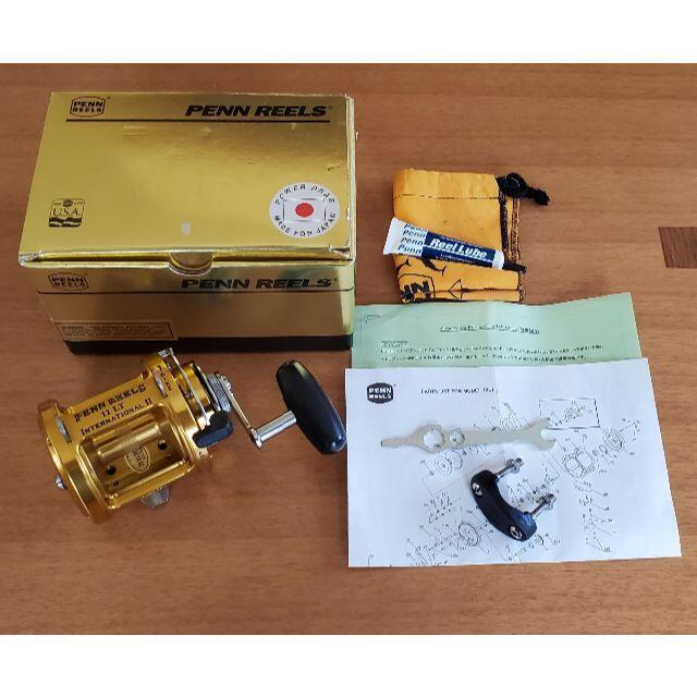 新品未使用 PENN/ペン インターナショナルⅡ 12LT レバードラグ スポーツ/アウトドアのフィッシング(リール)の商品写真
