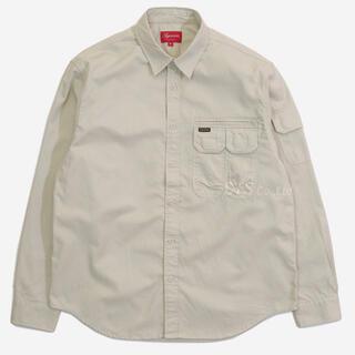 Supreme - Supreme Twill Multi Pocket Shirt