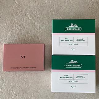 VTシカ シカマイルドトナーパッド+アイパレット ピンクエディション (パック/フェイスマスク)