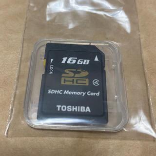 トウシバ(東芝)の16gb SDカード(その他)