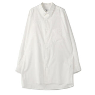 Yohji Yamamoto - ヨウジヤマモト プールオム 20SS コットンローン ビッグシャツ
