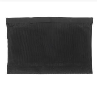 ムジルシリョウヒン(MUJI (無印良品))のMUJI 無印良品  ナイロンメッシュバッグインバッグ  B5サイズ用・黒 (ポーチ)