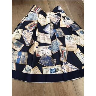 ジェーンマープル(JaneMarple)のjane marpl プレシャスカード柄 スカート(ひざ丈スカート)