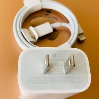 iPhone - Appleアップル18wの純正USBーC充電ケーブル
