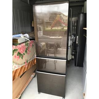 三菱電機 - 【直接引取送料無料】三菱電機 3ドア冷蔵庫 MR-CX37D-BR 2019年製