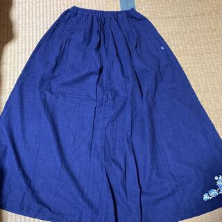 ドラッグストアーズ(drug store's)の紺色スカート(ロングスカート)
