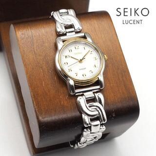 Grand Seiko - 《一点物》SEIKO LUCENT 腕時計 ホワイト クォーツ 生活防水