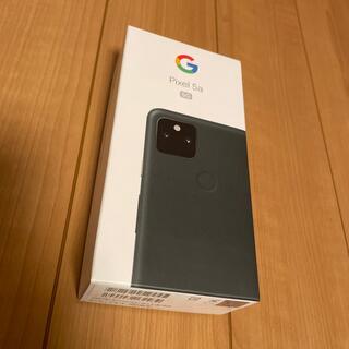 Google Pixel - 【新品未使用】pixel5a(5G)本体  google