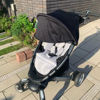 4moms - 【美品】4moms stroller ベビーカー バシネット セット