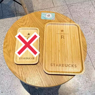 スターバックスコーヒー(Starbucks Coffee)の【中国限定】スタバ リザーブ ウッドプレート(テーブル用品)