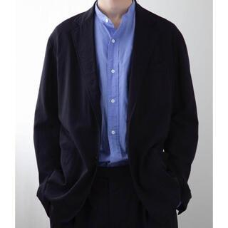 COMOLI - コモリ ウール2bジャケット セットアップ ネイビー