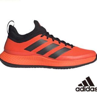 adidas - アディダス テニスシューズ 27.5cm adidas オレンジ メンズ