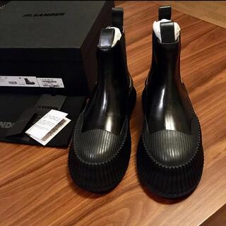 ジルサンダー(Jil Sander)の39 新品正規品 JIL SANDER 21SS レザー チェルシーブーツ(ブーツ)