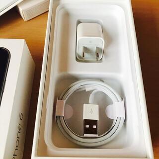 Apple - Apple iPhone付属品USBアダプタ充電器/Lightningケーブル