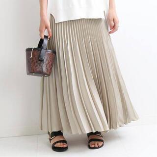 イエナ(IENA)の【IENA】アコーディオンプリーツスカート 34サイズ(ロングスカート)
