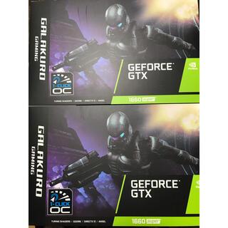 GTX 1660 Super GG-GTX1660SP-E6GB/DF 2台