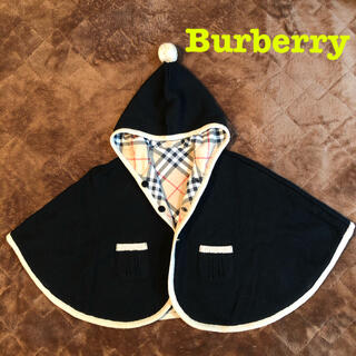 BURBERRY - Burberry ベビーポンチョ