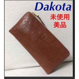 Dakota - ダコタ  ステッラ 未使用 革長財布 美品